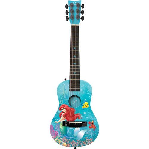 "First Act 30"" Disney Princess Ariel Acoustic Guitar, Green"