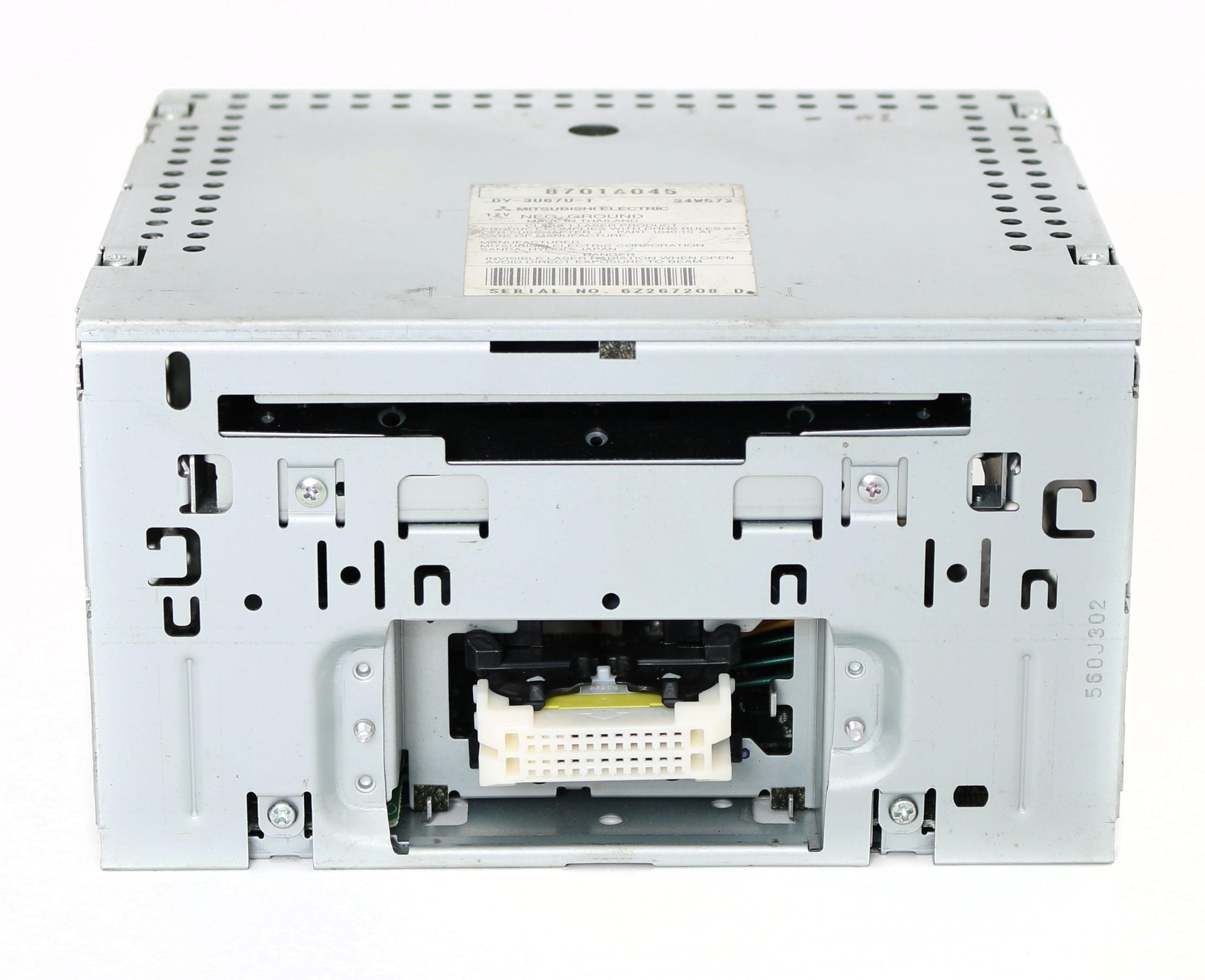 Mitsubishi 2006-2009 Eclipse Endeavor Galant AM FM Radio mp3 Single CD 8701A045 Refurbished by Mitsubishi