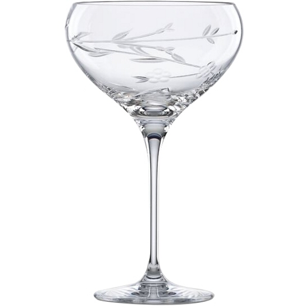L by Lenox Crystal Floral Bouquet Cocktail Glass by Lenox