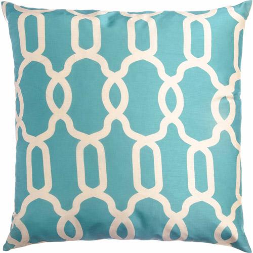 "Softline Athena 20"" x 20"" Decorative Pillow, Sky"