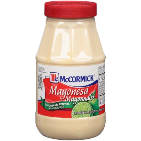 McCormick Mayonnaise With Lime Juice, 62.5 oz