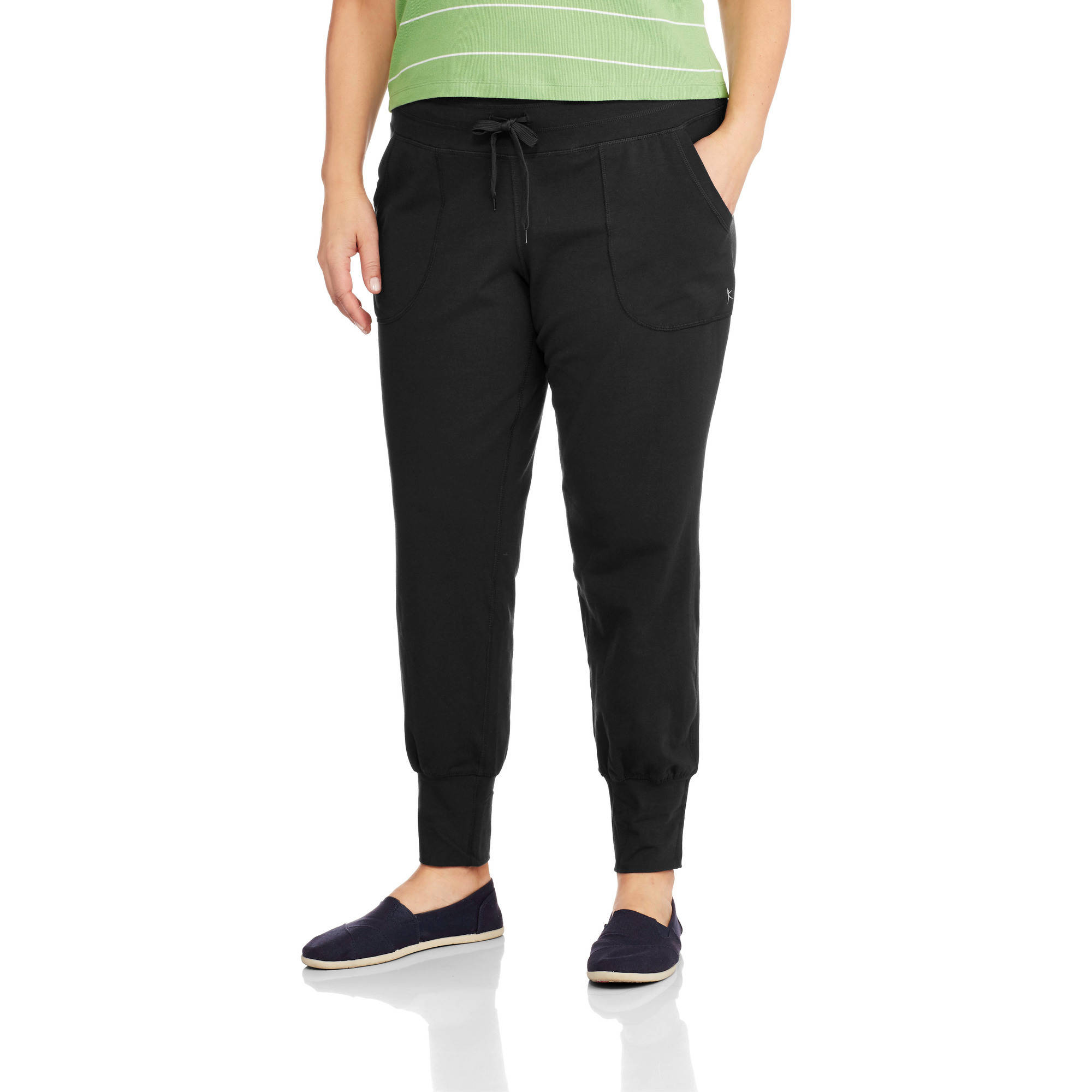 danskin now women's plus size jogger pant - walmart