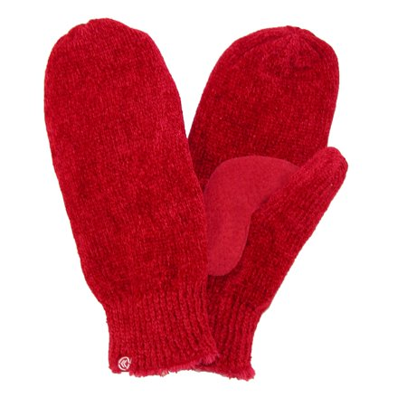 Chenille Suede - Size  one size Women's Chenille with Suede Palm Mitten