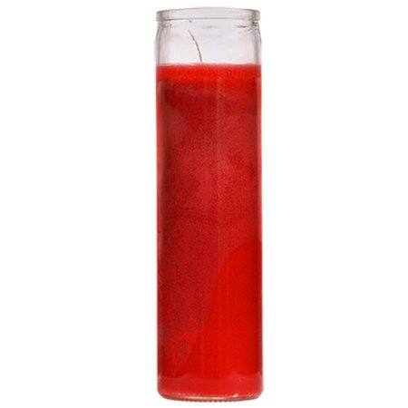 7 Days Candle Prayer Red Glass Candle](Candle Prayer)
