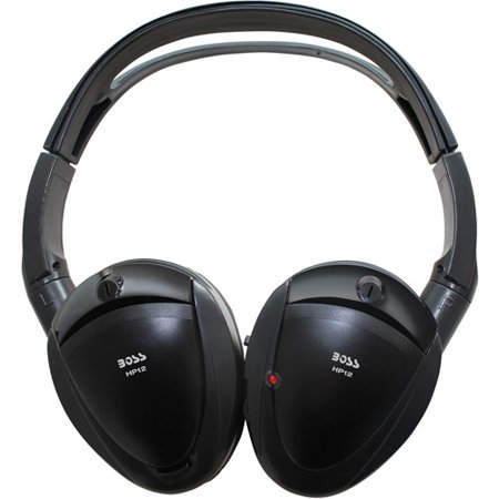 Boss Audio HP12 2-Channel IR Cordless Headphones