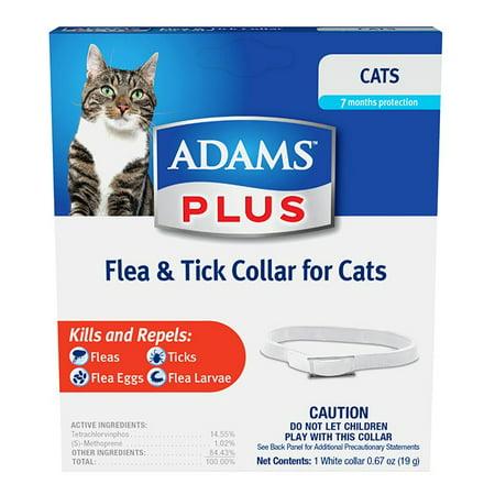 Adams Flea   Tick Collar For Cats   1 Ct