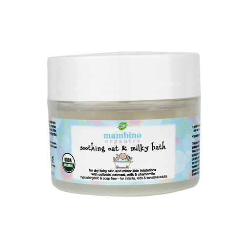 Mambino Organics Soothing Milk and Oat Bath - 4 fl oz