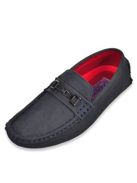 Jodano Collection Boys' Driving Loafers (Sizes 5 - 8)
