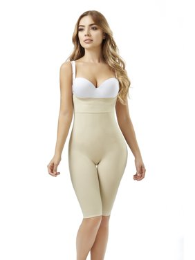 782240554 Product Image ShapEager Shapewear Women Seamless Shaper Bio-Crystals Long  Short Body Shaper Faja Colombiana