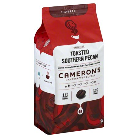 Cameron's Specialty Coffee Toasted Southern Pecan Whole Bean, 12oz