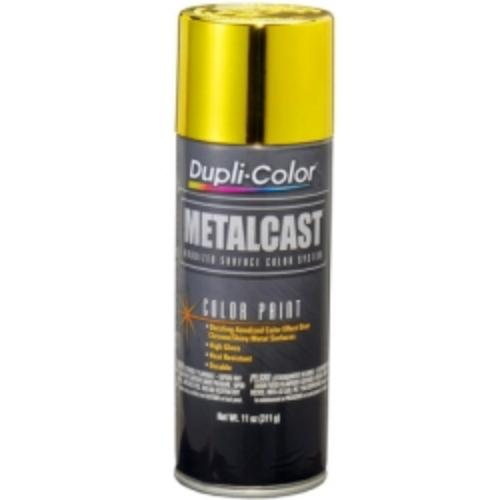 Krylon MC202 Dupli Color Metalcast Yellow Anodized 11 Oz. Aerosol