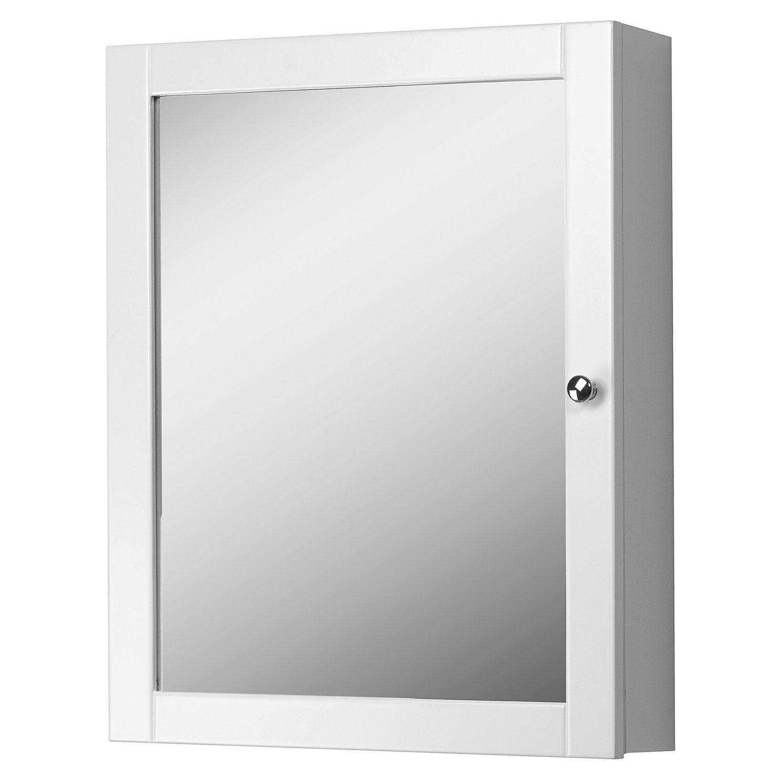 Foremost Columbia 19-in. White Bathroom Medicine Cabinet by Foremost