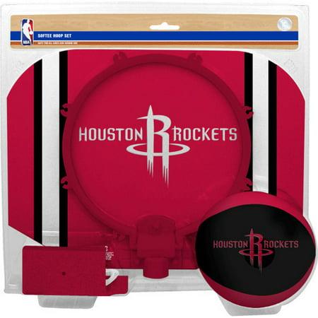 Houston Rockets Rawlings Softee Hoop & Ball Set - Red - No Size](Houston Rockets Basketball)