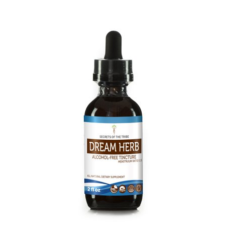 Dream Herb Tincture Alcohol-FREE Extract, Wildcrafted Calea Zacatechichi Cleansing Properties/Soothes the Body 2 fl