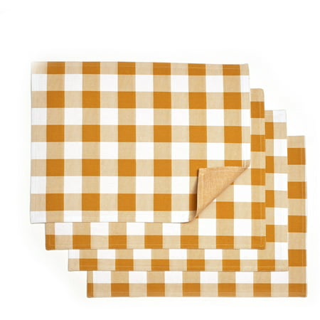 Pioneer Woman Charming Check Placemats  Pack Of 4