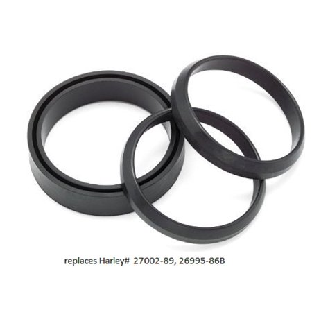 Davidson 174 Oem - Carb/Manifold Seal Set replaces Harley Davidson OEM# 27002-89, Kit contains carb-to-intake seal and two intake-to-cylinder head seals By Orange Cycle Parts