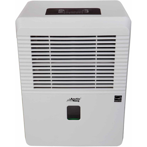 Arctic King Energy Star 50-Pint Dehumidifier for Basements, White
