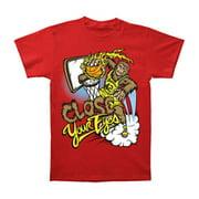 Close Your Eyes Men's  Teenwolf T-shirt Red