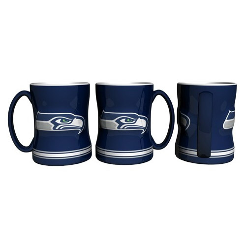 Seattle Seahawks Official NFL Coffee Mug by Boelter Brands 206322