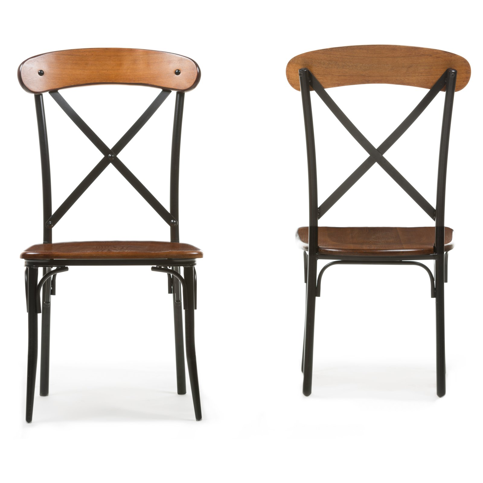 Baxton Studio Broxburn Dining Chair   Set Of 2