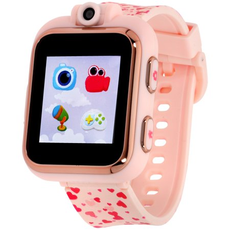 (iTouch Playzoom Kids Smart Watch Blush Hearts Pattern)
