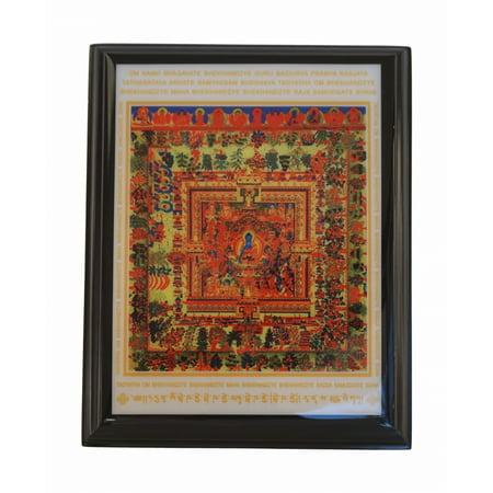 Medicine Buddha Mandalas Plaque