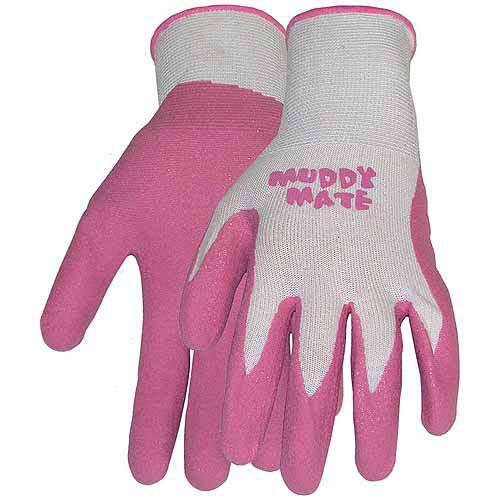 Boss Gloves 9401PS Small Bubble Gum Pink Muddy Mate Premium Gloves