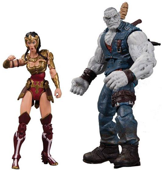 DC Injustice: Gods Among Us Wonder Woman & Solomon Grundy Action Figure 2-Pack