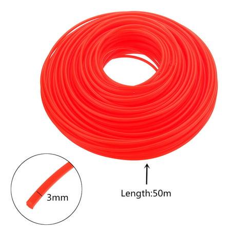 3mmX50M Nylon Trimmer brushcutter Line Whipper Snipper Cord Wire Brush Cutter