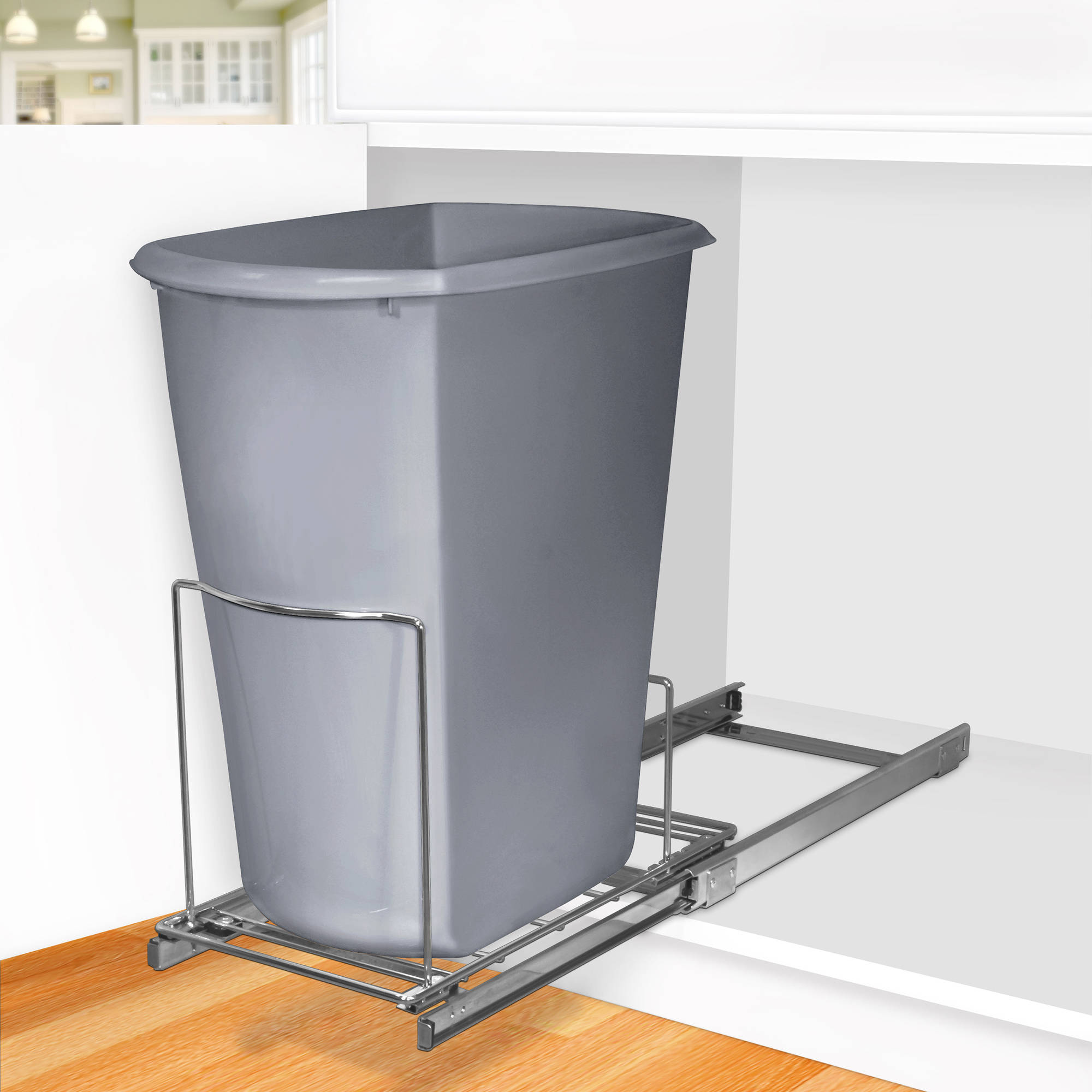 Lynk Roll Out Double Shelf: Lynk Professional Roll Out Under Sink Cabinet Organizer