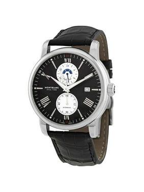 Montblanc 4810 Dual Time Automatic Black Dial Men's Watch 114858