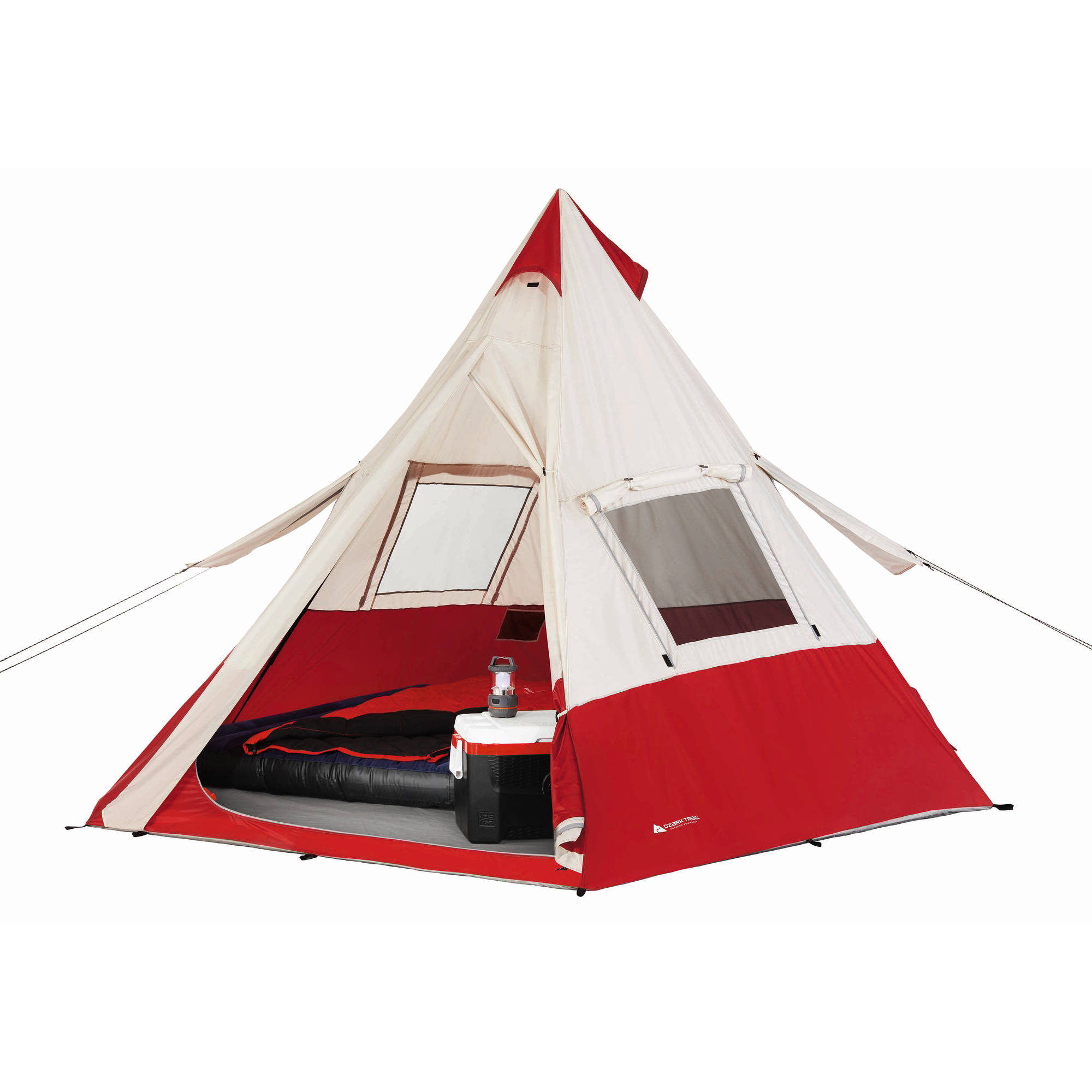 "Review Ozark Trail 11'8"" x 11'8"" Teepee Tent, Sleeps 7 Review"