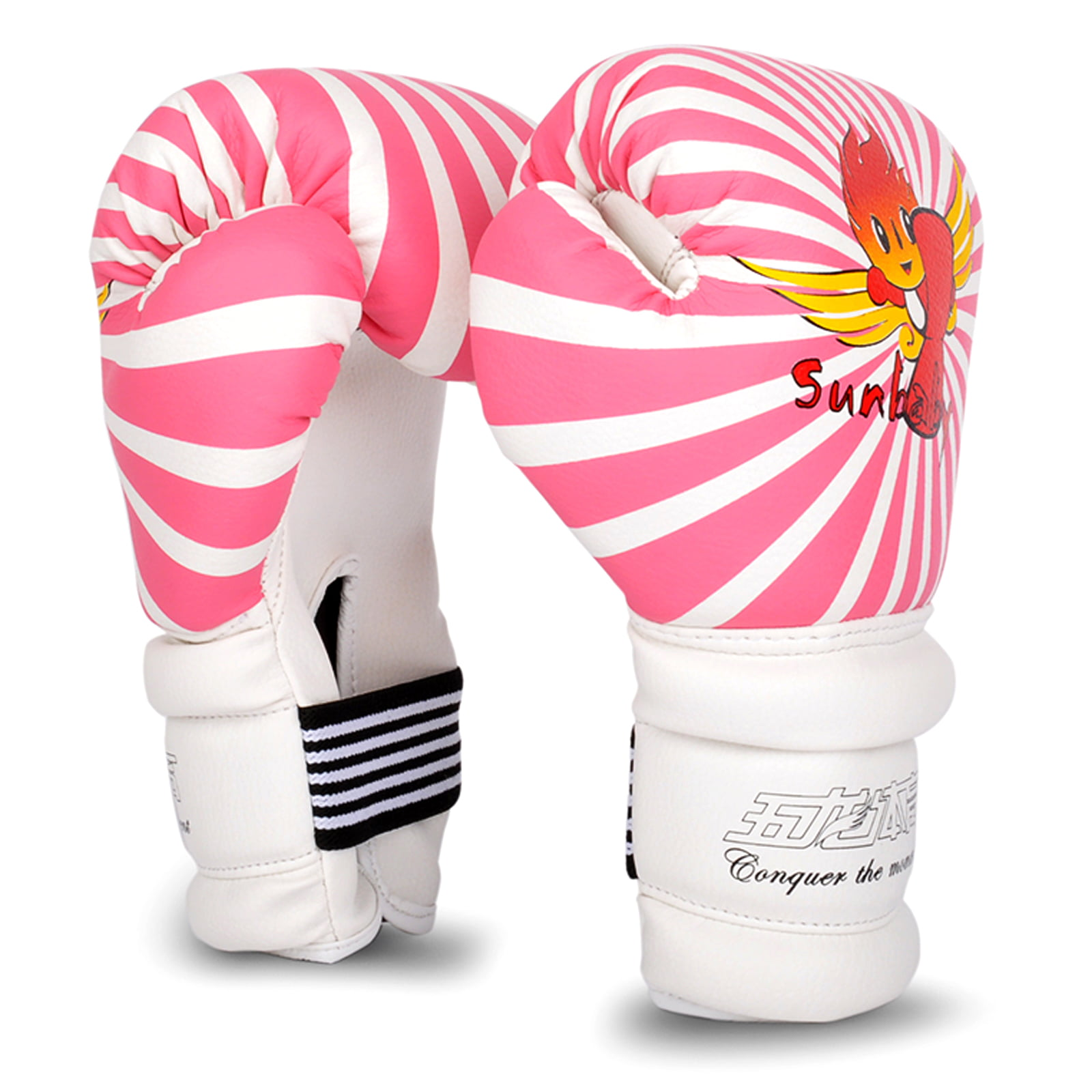 Cheerwing 6oz PU Kids Boxing Gloves Junior Cartoon Punch Bag MMA Sparring Dajn Training by Wolon