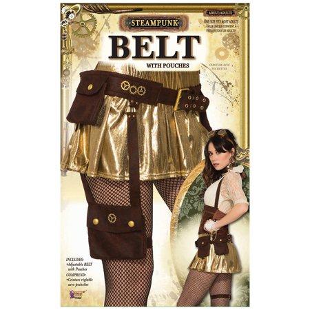 Steampunk Pouch Belt Adult Costume Accessory - Costume Belts