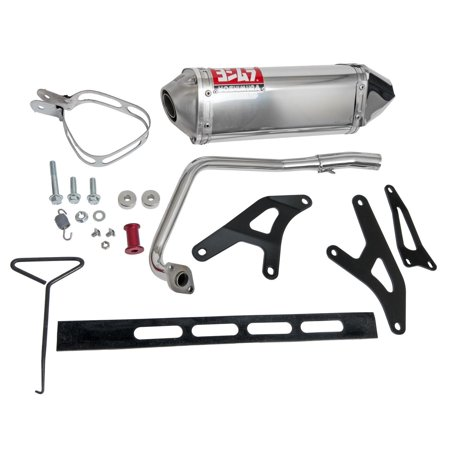 Yoshimura TRC Tri-Oval Full Exhaust System Stainless (1290075) ()