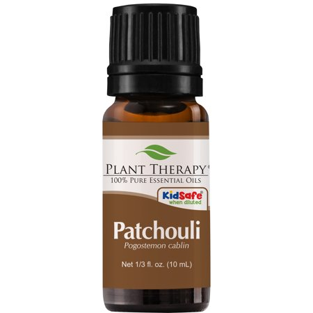 Plant Therapy Patchouli Essential Oil | 100% Pure, Undiluted, Natural Aromatherapy, Therapeutic Grade | 10 mL (1/3 oz)