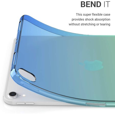 """kwmobile TPU Silicone Case for Apple iPad Pro 11"""" (2018) - Soft Flexible Shock Absorbent Protective Cover - Bicolor - image 2 of 5"""