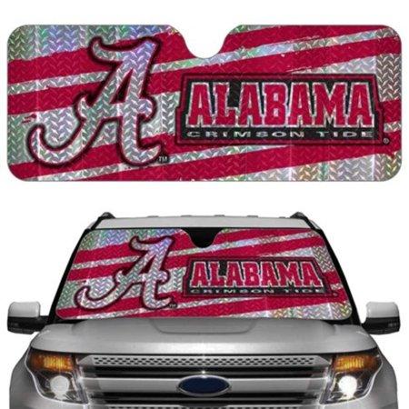 (Alabama Crimson Tide Auto Sun Shade, Quick shipping By Hall of Fame Memorabilia)