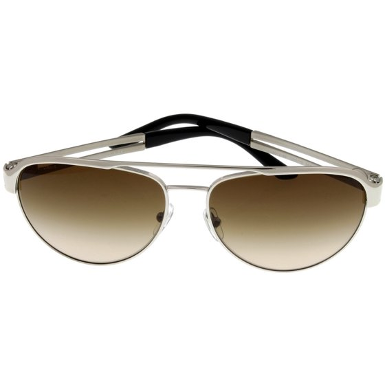 765566c87c Versace - Versace Sunglasses Women Silver Aviator VE2165 100013 Size Lens   Bridge  Temple 58 15  140 - Walmart.com