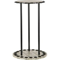 Organized Fishing 20 Capacity Round Spinning Rack, Camo