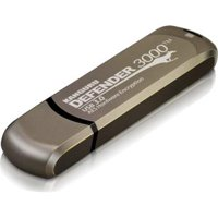 64GB DEFENDER 3000 FLASH DRIVE SECURE USB FIPS 140-2 ENCRYPTED
