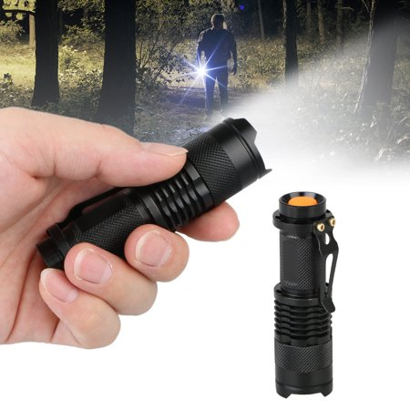 Super Bright Torch - TSV LED Tactical Flashlight Military Grade Torch Small Super Bright Handheld Light