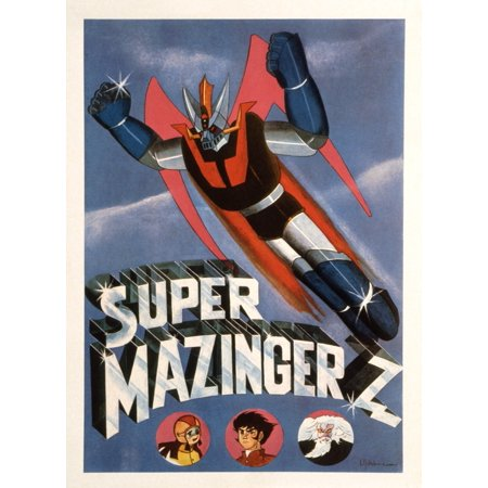 Super Mazinger Z Canvas Art - (24 x 36)