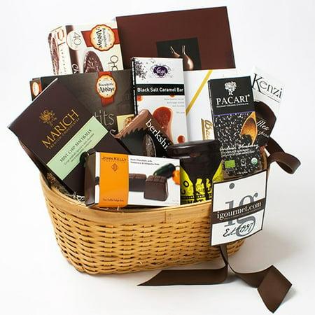 Chocolate Lover's Premier Gift Basket Chocolate Natural Gift Basket