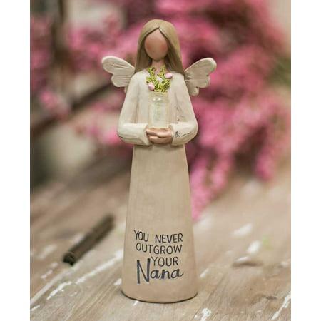 Angels Vases - Nana Resin Angel with Vase