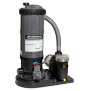 Blue Wave Hydro 90 Sq.-ft Cartridge Filter System w/ 1 HP Pump for Above Ground Pools
