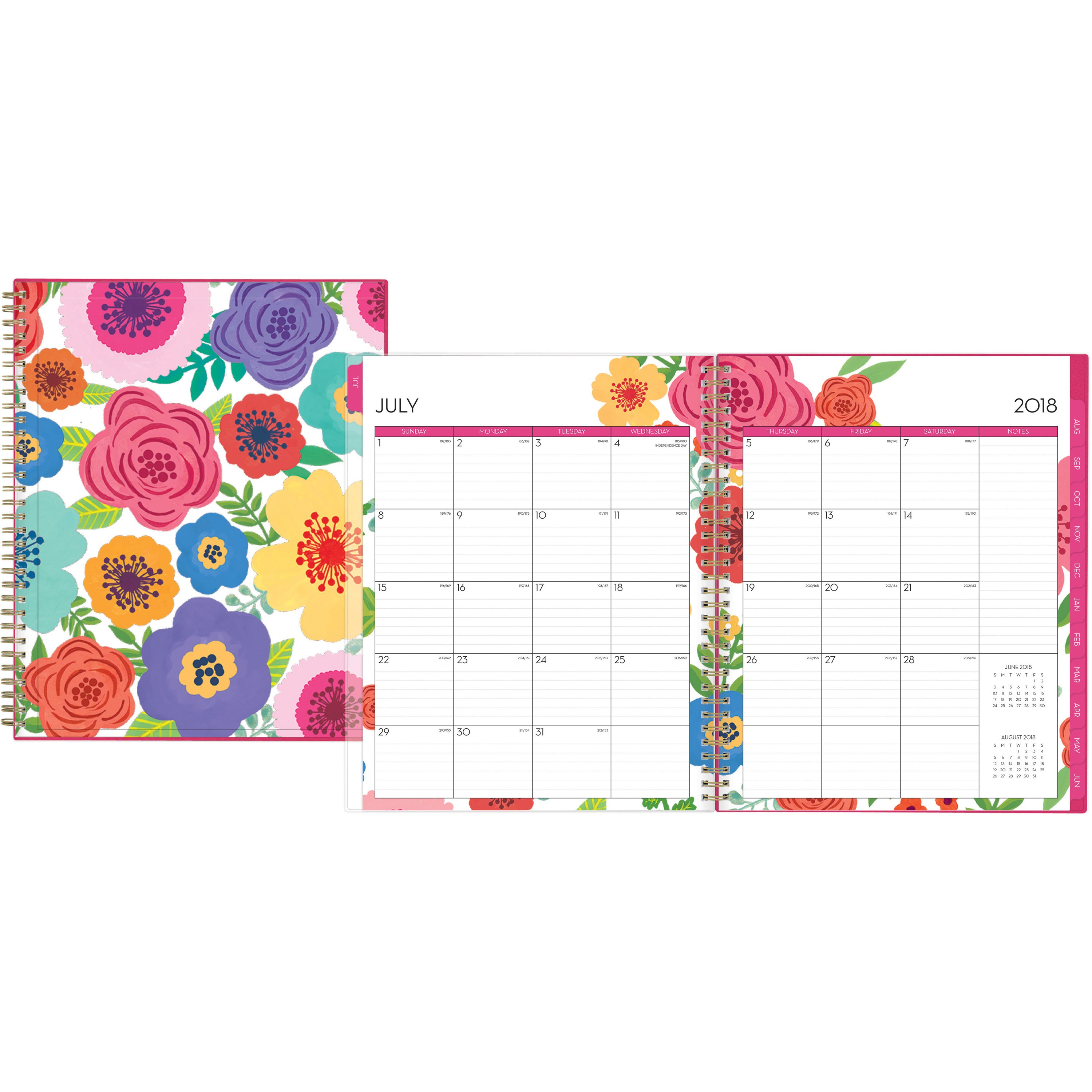 Blue Sky, BLS100149, Mahalo CYO 8.5 x 11 Weekly/Monthly Planner, 1 Each, Multicolor