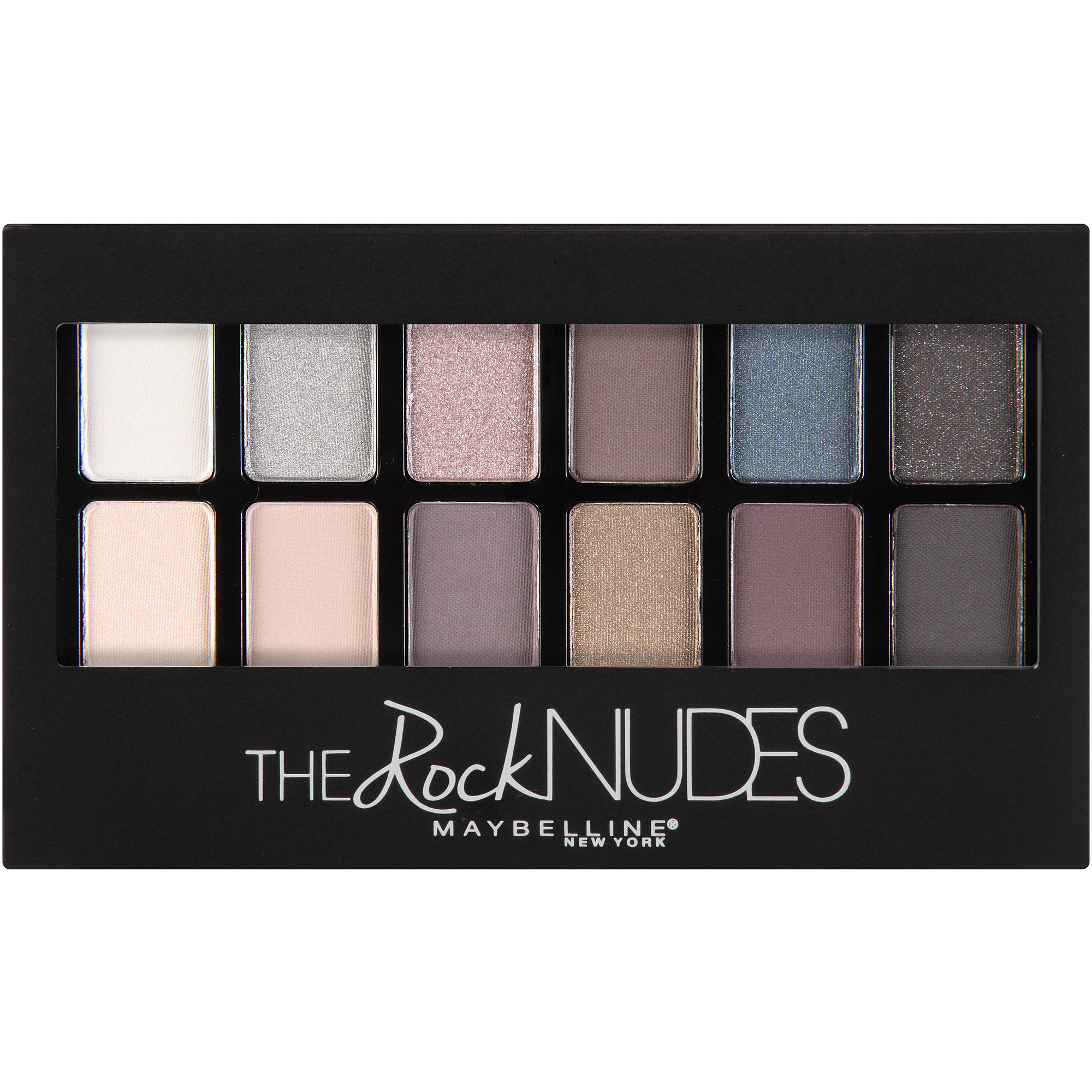 Maybelline New York The Rock Nudes Palette, 0.35 Oz