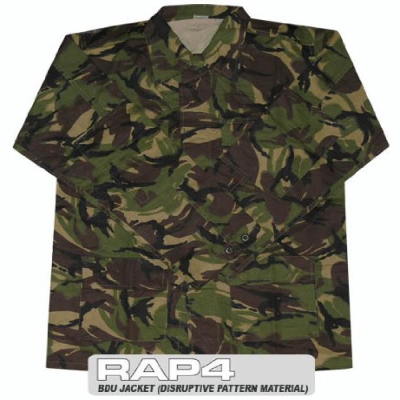 RAP4 Disruptive Pattern Material (DPM) BDU Jacket Medium ...