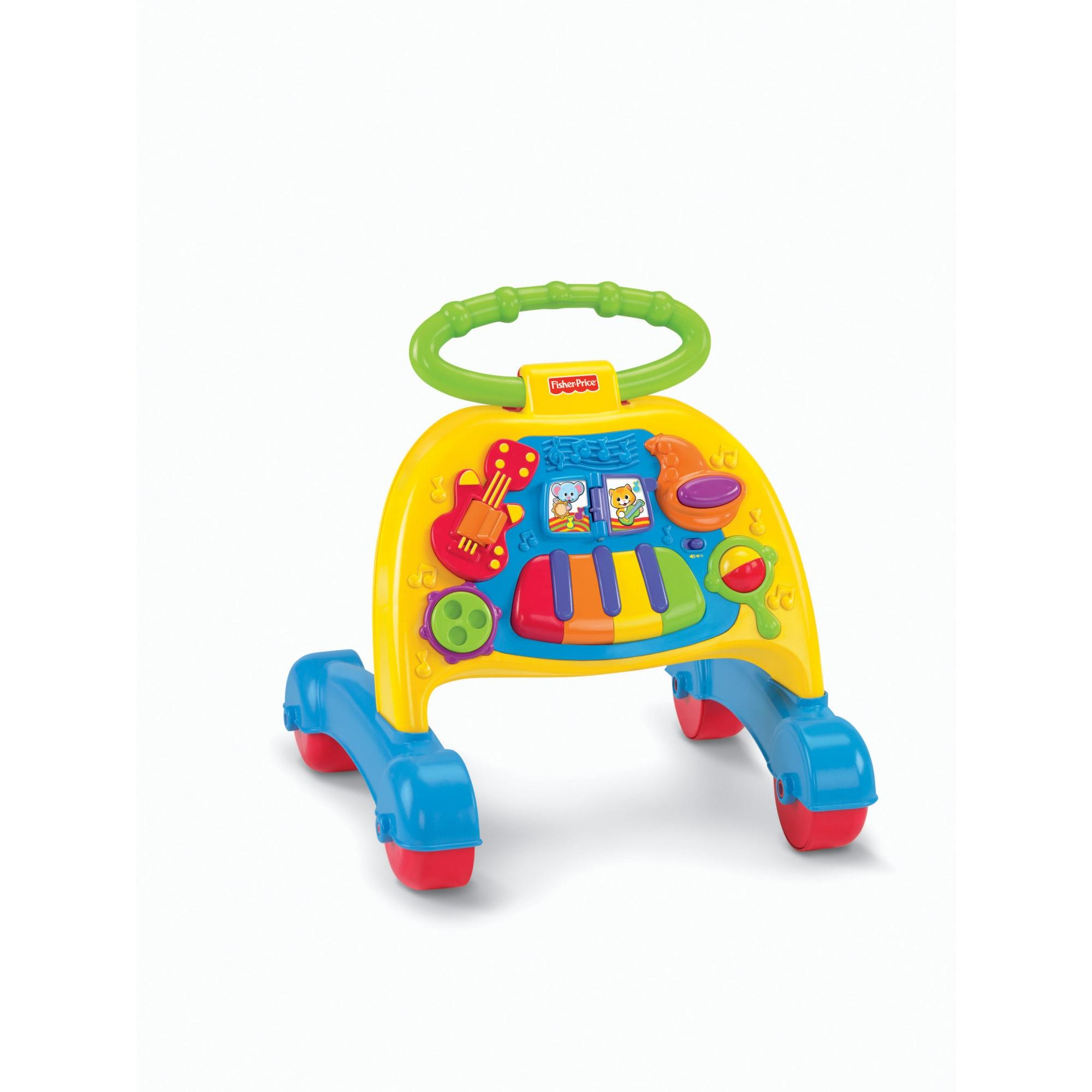 Fisher Price Brilliant Basics Musical Activity Walker by Fisher-Price